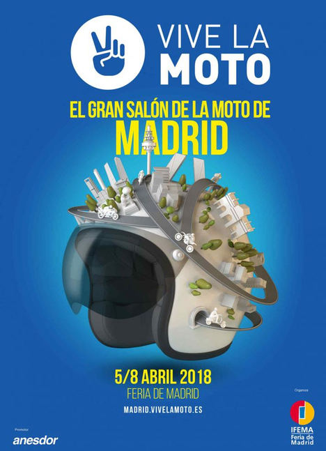 Arranca en IFEMA VIVE LA MOTO, El Gran Salón de la Moto de Madrid