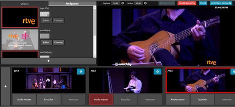 Watchity lleva al Festival de Almagro la producción ágil de video en vivo de la mano del HUB de RTVE
