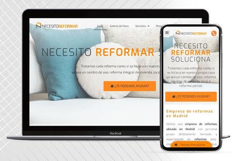 Necesito Reformar estrena nueva página web, más moderna, accesible y funcional