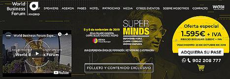 El World Business Forum 2019 traerá a Madrid algunas de las mentes más influyentes de los negocios