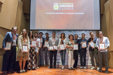Éxito total en la octava edición de los E-Commerce Awards 2017