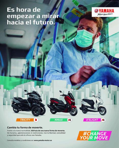 Yamaha mira hacia el futuro con su campaña de